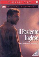 Il paziente Inglese DVD Nuovo Sigillato Minghella Finnes Binoche Dafoe