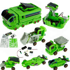 7 In 1 Solar Power Rechargeable Car Kit Educational Toy Kids DIY Science US Ship