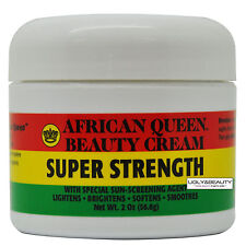 African Queen Beauty Cream Super Strength 2 Oz / 56.6 g