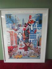 1983 Macy's Thanksgiving Day Parade Framed Print by Melanie Taylor Kent RARE
