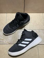Men's Adidas Cloudfoam Refresh Mid Basketball Shoes White Size 9 US (DA9667)