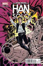 Han Solo #1 Variant Lot of 3 Photo, Falcon, Allred & Reg Covers Marvel 2016