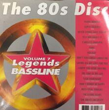 Legends Bassline Karaoke Disc Vol 007 - The 80's Disc