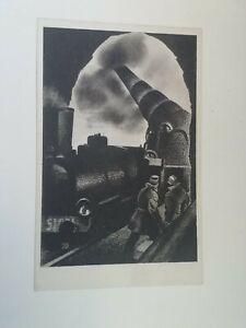 Cartolina Associazione nazionale Ferrovieri Numero 3 Apolloni