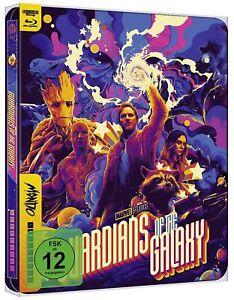 Guardians of the Galaxy [4K Ultra HD Blu-ray & Blu-ray im Steelbook /NEU/OVP]