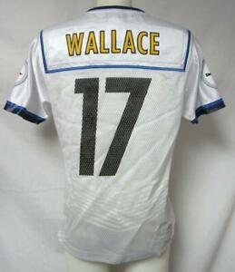 Pittsburgh Steelers Womens Size Small Wallace #17 Super Bowl XLV Jersey A1 2303