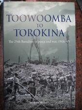 WW2  25th Battalion Militia Milne Bay Puriata Pearl Ridge Bougainville Torokina