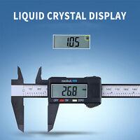 150mm/6inch LCD Digital Electronic Vernier Caliper Gauge Micrometer Ruler Tools