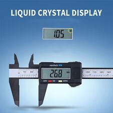 150MM 6inch Digital Micrometer Calipe LCD Electronic Carbon Fiber Vernier Gauge