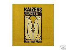 MAXI CD Kaizers Orchestra, Mann Mot Mann, Live, Video, NEU, RAR