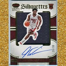JUSTISE (Justice) WINSLOW Rookie SILHOUETTES SP AUTO/JERSEY #/99 Miami HEAT DUKE