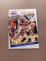 Michael Jordan: 1993/94 Upperdeck Highlights 1st Round: Bulls Vs Hawks
