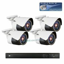 KT&C network IP camera NVR 4ch plug-and-play package HD 3 MP rugged bullet IR