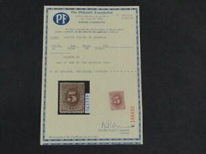 Nystamps US Postage Due Stamp # J4 Mint OG H $825 PF Certificate j9xa