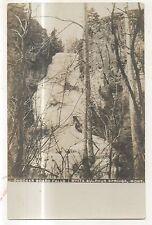 RPPC Checker Board Falls WHITE SULPHUR SPRINGS MT Vintage Real Photo Postcard