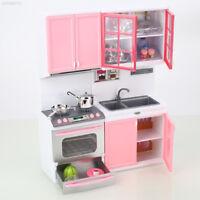 059F Pretend Kitchen Kitchen Toy Pink 1 Set Girls Home Kids Pretend Play