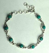 Pulseras de joyería turquesa