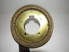 Antique Open Escapement Movement Clock Bezel Part