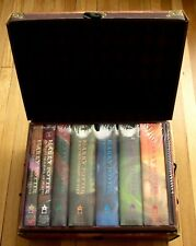 Complete Set 1-7 HARRY POTTER Books in TRUNK J.K. Rowling NEW SEALED