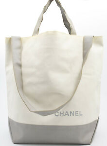 CHANEL CRUISE LINE BAG BRIEFCASE TOTE SHOPPING BAG SHOPPER RARE TASCHE USED