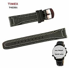 Timex repuesto Pulsera Expedition chronograph & Easy Set alarma t42351-Multifit