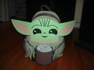 LOUNGEFLY THE CHILD WITH CUP MINI BACKPACK~ WITH TAGS~BRAND NEW~ STAR WARS~