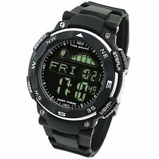 LAD WEATHER Tide graph watch Moon data pacemaker fishing surfing inverted (S)