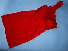 size 10 Red Long Sleeve Drop Waist Dress Miso Huge Bargain 16 12 14