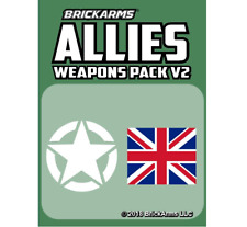 BrickArms Allies Pack v2 2018 Pack Limited Edition NEW