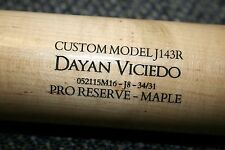 DAYAN VICIEDO GAME USED VICTUS MODEL WOOD BAT CHICAGO WHITE SOX