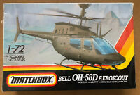 Matchbox Vintage Model Kit Bell OH - 58D Aeroscout 1:72 Scale