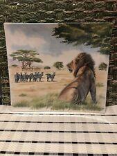 Gien Safari Square Plate