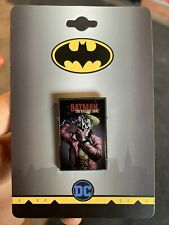 Batman The Killing Joke Enamel Pin Joker Batman DC Comics A11