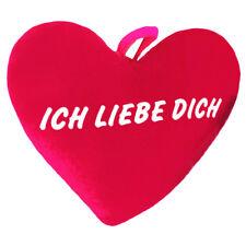 Herz-Kissen XXL Plüschkissen 80 cm - Ich liebe Dich - Extra groß