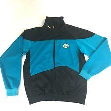 STAR TREK Next Generation Uniform Teal Track Jacket Size XS