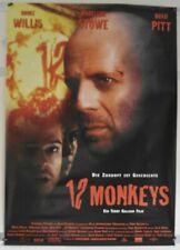 K132 Kinoplakat 84x120 cm - 12 MONKEYS - Bruce Willis / Brad Pitt