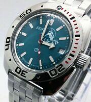 VOSTOK AMPHIBIA 200m Russian diver watch #710059 orologio russo