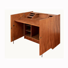 Danish Mid Century Modern Rosewood Magic Box Desk by BRDR Furbo