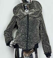 Tsumori Chisato Polka Dot Wool Jacket Bomber