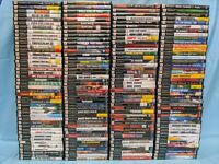174 Sony PlayStation 2 Games - PS2 lot of 174 - No Duplicates! - Startup Tested