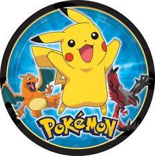 Pokemon Cake Topper Edible Birthday Party  Decoration Image