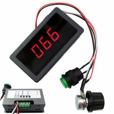 DC 6-30V 12V 24V MAX 8A Motor PWM Speed Controller With Digital Display Switch N