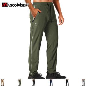 Men's Lightweight Sweatpants Sports Pants Fast Drying Joggers Running Gym Pants