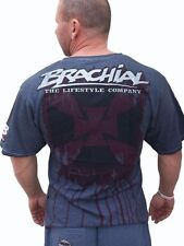 """Brachial T-Shirt """" Twister """" Anthracite T-Shirt Anthracite Bodybuilding Fitness"""