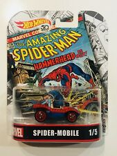 HOT WHEELS 2018 RETRO MARVEL SPIDER-MOBILE