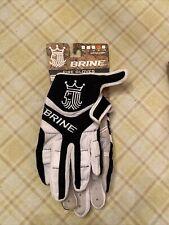 Brine Fire Women's Lacrosse Gloves Black Size Small Nwt