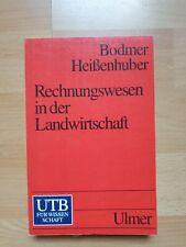 Buch Rechnungswesen in der Landwirtschaft Bodmer Heißenhuber