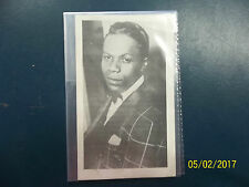 MARV JOHNSON PROMOTIONAL CARD LONDON RECORDS YOU GOT WHAT IT TAKES VGC