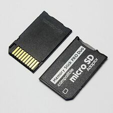 Brand New Micro SD TF To Pro Duo Memory Stick Adapter for PSP