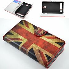 Flip Flower Leather Phone Stand Wallet Cover Case For Samsung S3 S4 S5 iPhone 6